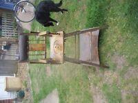 antique childs metamorphic high chair