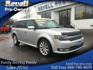 2014 Ford Flex Limited AWD  *ONLY 50k, Moon, Lthr, Nav