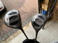 Full set ladies golf clubs and bag