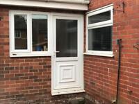 UPVC Door and 2 Windows