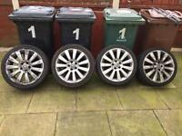 Astra Twintop Alloy Wheels 18 inch - Silver