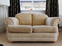 2 Seater Sofa Cream / Beige - Very Good Condition