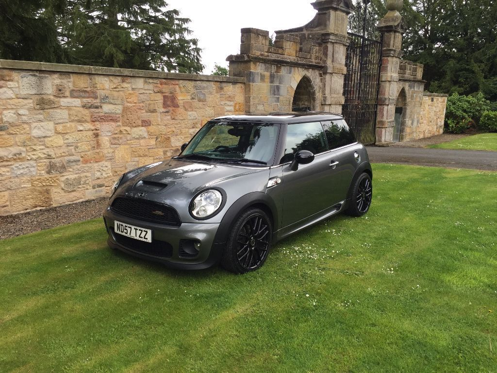 bmw mini cooper s jcw kit 1 6 turbo 18 wheels chili pack xenons 77k 1yr mot fsh leather. Black Bedroom Furniture Sets. Home Design Ideas