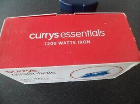 currys 1200 watt steam iron