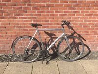 Ridgeback Supernova Hybrid Bike 60cm frame, in good condition.
