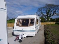 Abbey 2002 520s Safari Touring Caravan In excellent condition inside and out
