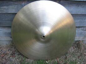 "Cymbals - Vintage Avedis Zildjian 19"" Cymbal - Rare - Excellent"