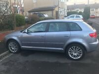 2007 AUDI A3 1.9 TDI 5dr Very good condition , Cambelt changed at 76k, service history
