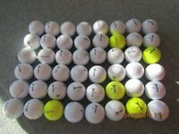 4 Dozen used but good quality Srixon golf balls