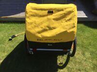 Burley Bee Childs Bike Trailer x2 Seats Like new