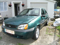 ford fiesta flight for spares or repair no m.o.t