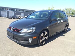 2011 Volkswagen Golf GTI WITH LEATHER & SUNROOF/ WE APPROVE EVER