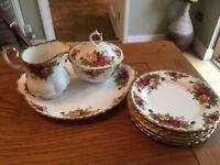 Royal Albert Cream Tea Set