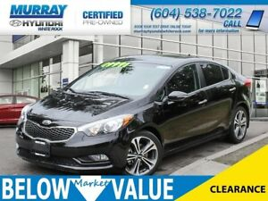 2015 Kia Forte 2.0L SX**NAVI**BLUETOOTH**LEATHER**REAR CAMERA**