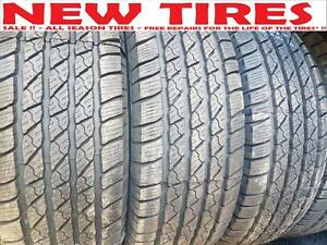 275/65 R 18 SALE !! $120 - NEW TIRES - ALL SEASON TIRES   -  Free Flat Repair*!!! - SALE !!
