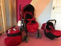 Silver cross pram 3 in 1