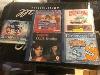 5 Sega Dream Cast Games - Bargain!