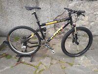 Full Suspension Mountain Bike - Giant XTC Team
