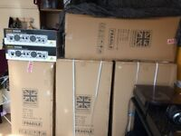 BRAND NEW, NEVER USED, COMPLETE PA SYSTEM 6000W RMS - 12000W POWER