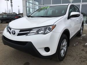 2015 Toyota RAV4 LE AWD, LOW KILOS, INSPECTED