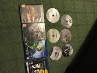 PS3 games and Blu-Rays