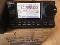 ICOM IC 7100 HF/6M/4M/2M/70cm & 70MHz & D-STAR transceiver, boxed in excellent condition