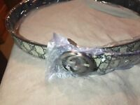 Gucci belts new Condition
