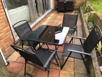 Garden Table + 4 chairs
