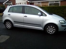 VW GOLF PLUS SE 1.9 TDI ONLY 113000 MILES MOT DEC 55 REG 60 MPG RUNS GREAT WAS 1495 NOW 1295 NO OFFR