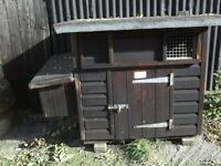 Small Poultry Hut suitable for 6-8 birds