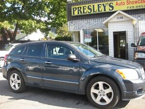 2007 Dodge Caliber R/T, AWD, Htd Leather, automatic, 4cyl alloys