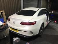 Mercedes E220cdi Premium 17 reg Coupe