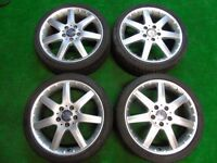 "MERCEDES BENZ A CLASS 17"" ALLOY WHEELS"