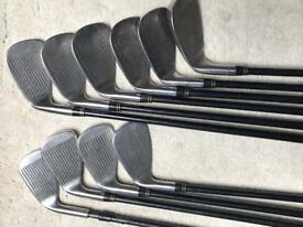 Graphite shaft golf clubs 3-SW