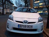 Toyota Prius 2009/59, 1.8 VVT-i CVT T Spirit Sat Nav - fully loaded & leather seats,Rear camera