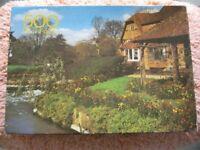 Vintage Arrow 500 Piece Jigsaw Puzzle - The Fairview Puzzle, River Lambourn, Berkshire, England