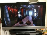Sony LCD tv with built in free view