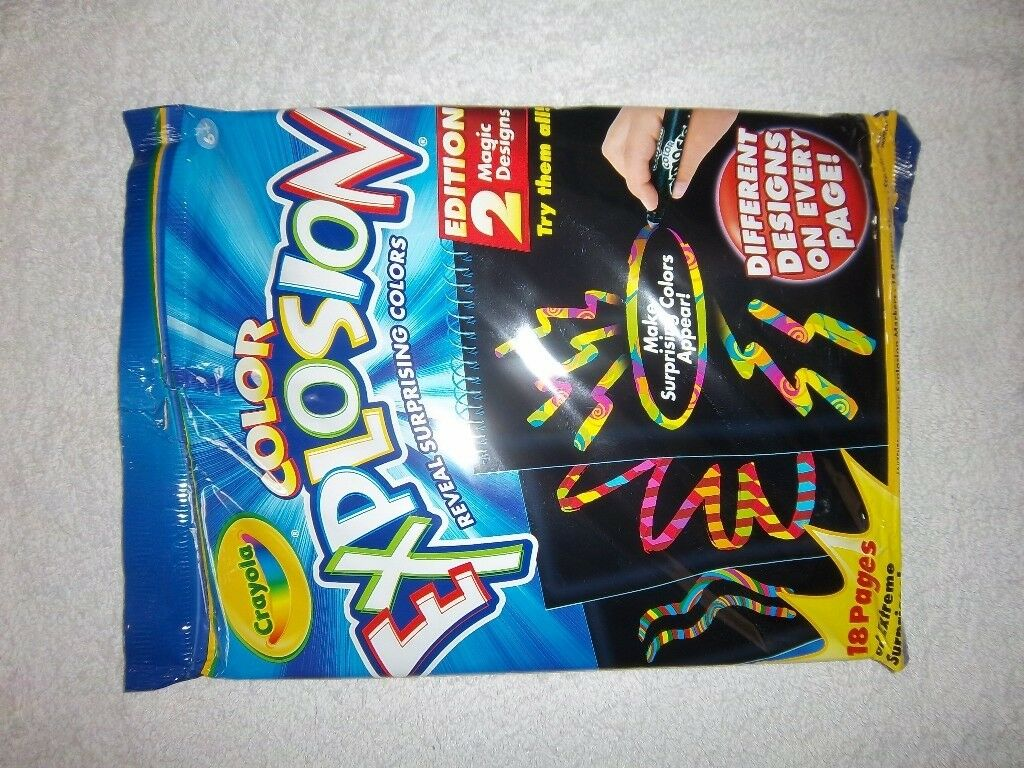 Crayola 741621 Color Explosion Markers Fire Ice Kit 20 Pack