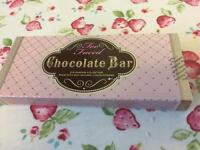 Two faced chocolate bar