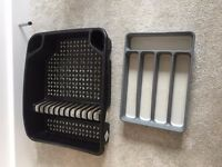 Cutlery tray and drying rack - excellent condition