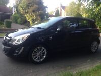 2012 Vauxhall Corsa 1.4 , Year of MOT, only 21000 miles. perfect conditions