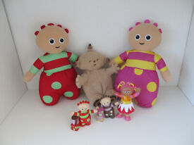 In the Night Garden 3 Soft Toys & 3 Figures