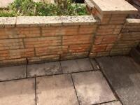 Stone wall free to collect
