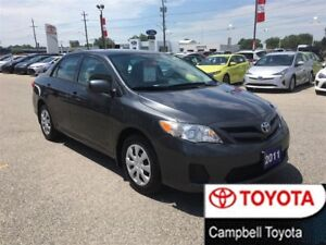 2011 Toyota Corolla LE--LOCAL TRADE--CRUISE--PW--PL