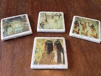 Egyptian Stone Coasters