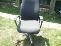 leather computor chair