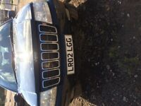 Jeep Cherokee spares, repairs, salvage, project etc