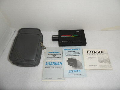 Exergen Microscanner E Autozero Electrical Inspection Infrared Heat Scanner