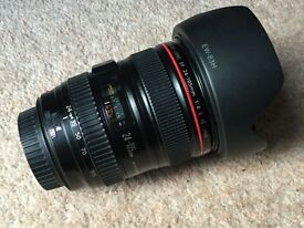 Canon 24 - 105 f4 L IS USM Lens