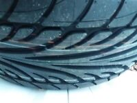 Audi 17 inch alloy with new tyre